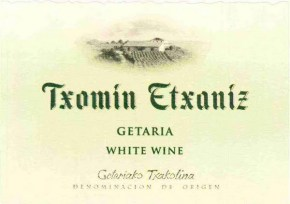 Basque White Wine