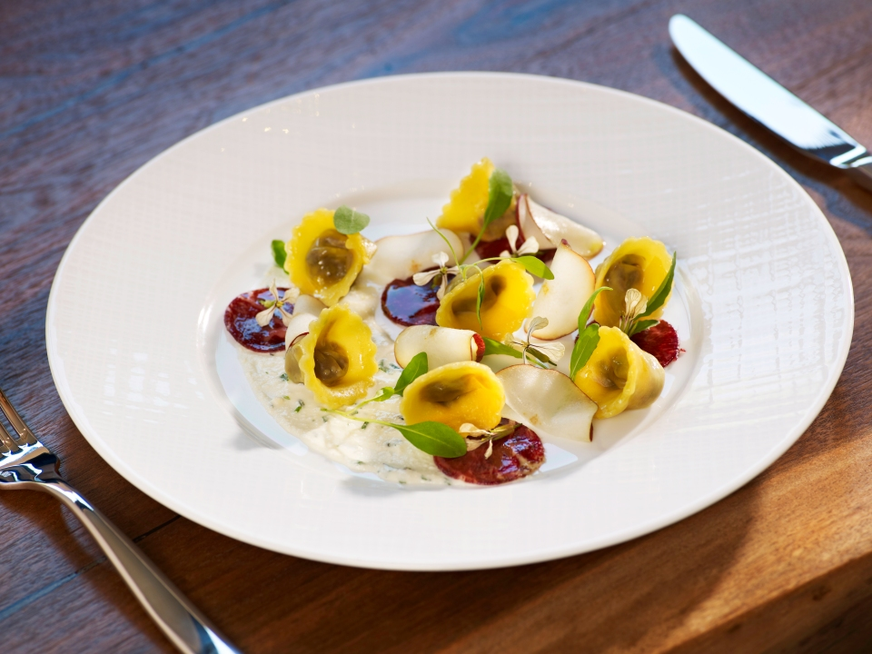 Wild Mushroom Tortellini - a new creation from Chef Robert McCormick