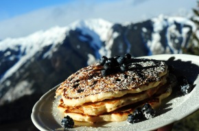 Pancakes on Aspen Mountain
