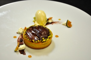 Pear and Goat Cheese Tart. Photo: Chef Robert McCormick