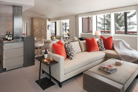 Remodeled Suites with Design by Holly Hunt
